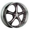 Status Retro S818 Charcoal 20 X 8.5 Inch Wheel