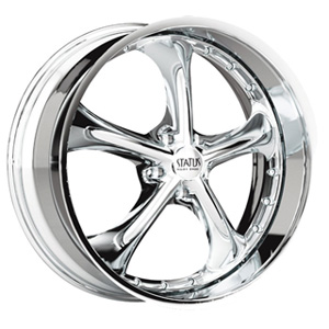 Status Retro 818 Chrome Wheel Packages
