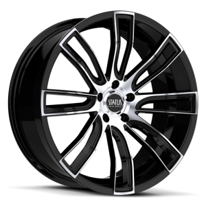 Status S833 Twerk Gloss Black w- Machined Face