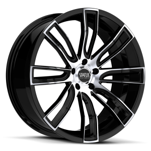 Status S833 TWERK Gloss Black with Machined Face