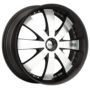 Status Trooper 819 Black with Machined Face Wheel Packages