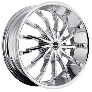 Strada Stiletto Chrome Wheel Packages