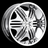 Stonz Alloyz 03 24 inch Wheel
