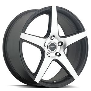 Strada Calore Black with Machined Face Wheel Packages