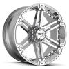 Tuff T-01 22X9.5 Chrome