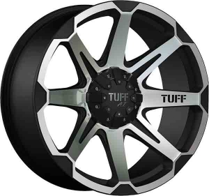 Tuff T-05 Black Machined Face