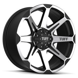 Tuff T-05 Flat Black with Machined Face