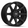 Tuff T-05 17X9 Full Black