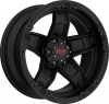 Tuff T-10 26X11 Flat Black with Red Accents