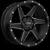Tuff  T-11 18X9 Satin Black Milled