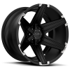 Tuff  T-12 20X10 Satin Black