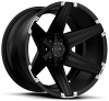 Tuff T-12 22X10 Satin Black