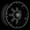 Tuff T-13 17X8 Gloss Black