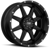Tuff  T-14 20X9 Satin Black