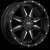 Tuff  T-14 20X9 Satin Black Milled