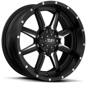 Tuff  T-14 Satin Black Milled
