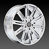 U2-30 Chrome 22 X 9 Inch Wheel