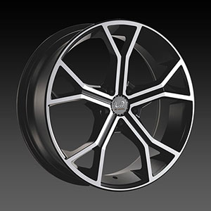 U2-32 Black Machined Wheel Packages