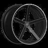 U2 33A 22X9.5 Black