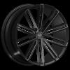 U2 36A 22X9.5 Black