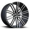 U2 36A 17X8.0 Black Machine