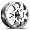 Ultra Goliath 023 Front Chrome 16 X 6 Inch Wheel