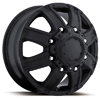 Ultra Gauntlet 024 Front Black 17 X 6.5 Inch Wheel