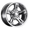 Ultra Roca 160 Chrome 15 X 5 Inch Wheel