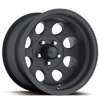 Ultra 164 Matte Black 15 X 7 Inch Wheel