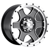 Ultra Nomad 173-174 Gray 17 X 9 Inch Wheel