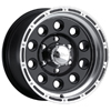 Ultra Baja Champ 185 Black 17 X 10 Inch Wheel