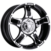 Ultra 193-194 Deep Black 15 X 10 Inch Wheel