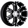 Ultra Baron 201-202 17 X 9 Inch Wheel