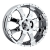 Ultra Goliath 223-224 Chrome 17 X 8 Inch Wheel