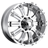 Ultra Mammoth 227-228 Chrome 17 X 8 Inch Wheel