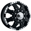 Ultra Goliath 023 Front Black 17 X 6.5 Inch Wheel