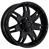 Ultra Gauntlet 234-235 Black 17 X 9 Inch Wheel