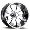 Ultra Mako 243-9244 Chrome 17 X 8 Inch Wheel