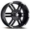 Ultra Thunder 247-248 Black 17 X 8 Inch Wheel