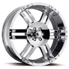 Ultra Lighting 247-248 Chrome 17 X 8 Inch Wheel