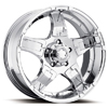 Ultra Drifter 193-194 Chrome 17 X 8 Inch Wheel