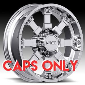 Ballistic Wheels V Tec Brutal 392 Chrome Center Cap