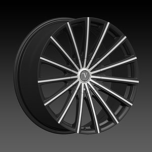Velocity VW 10 Black Machined Wheel Packages