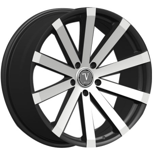 Velocity VW 12 18X8 Black Machined