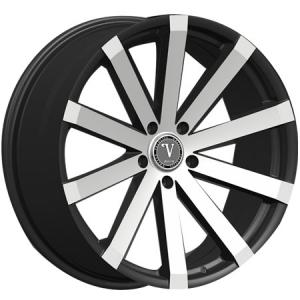Velocity VW 12 24X8.5 Black Machined