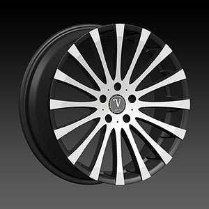 Velocity VW 13 Black Machined Wheel Packages
