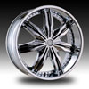 Velocity vw130 Chrome 24 X 9.5 Inch Wheel