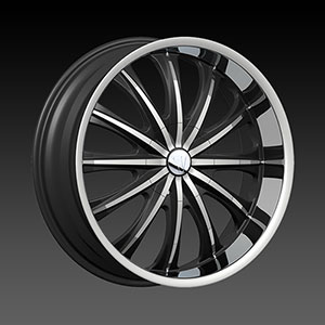 Velocity VW 15 Black Machined Wheel Packages