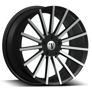 Velocity VW 17A 22X10 Black Machined