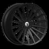 Velocity VW 17B 24X9.5 Black